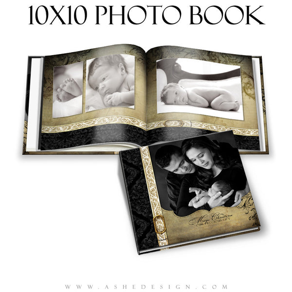 Christmas Family Photo Book  (10x10) - Rejoice