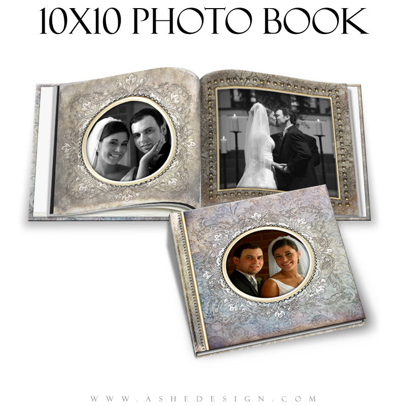 Wedding Photo Book Template (10x10) - Something New
