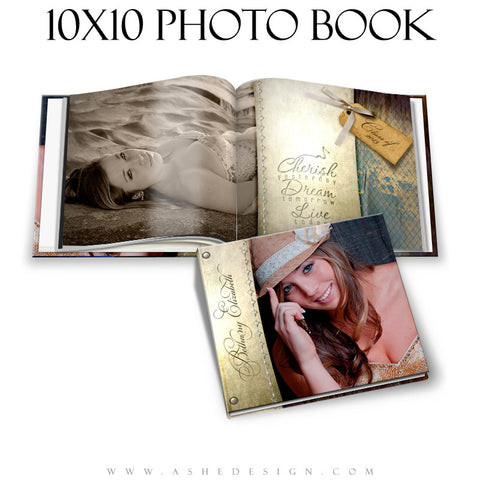 Ashe Design | Photo Book 10x10 | Spring Rain cover