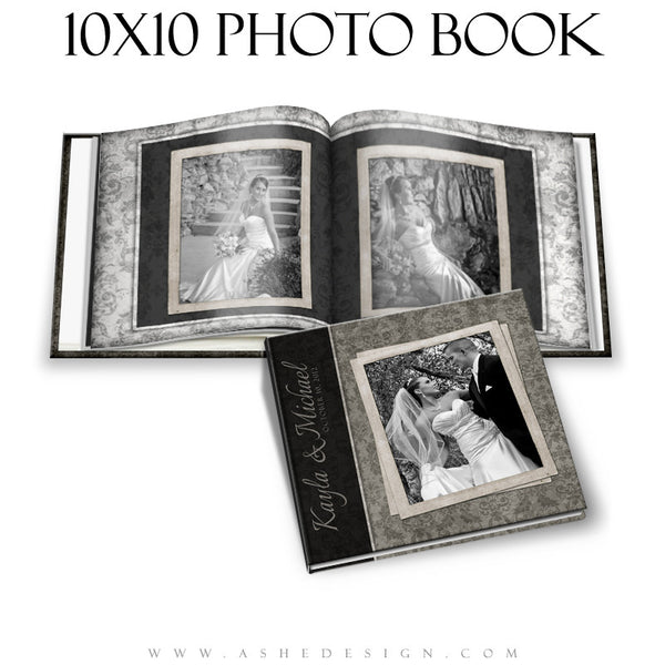 Wedding Photo Book Templates (10x10) - Timeless