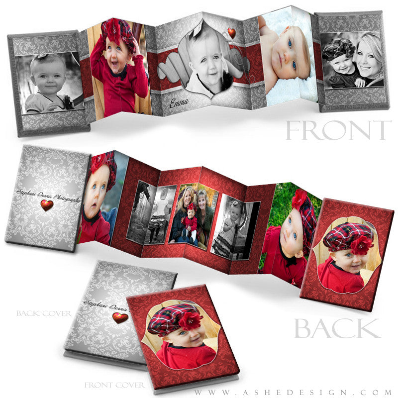 Photo Book Design Template (2.5x3.5 Wallet Accordion) - Little Sweeties