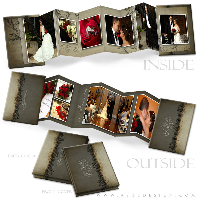 Photo Book Design Template (2.5x3.5 Wallet Accordion) - Maia Paige