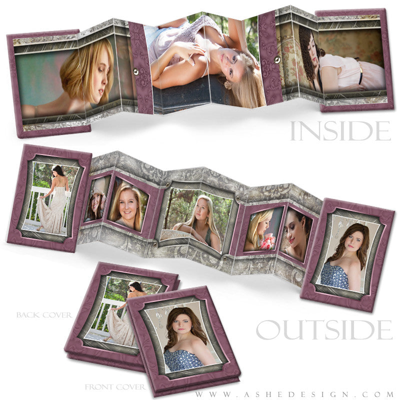 Photo Book Design Template (2.5x3.5 Wallet Accordion) - Natalie Marie