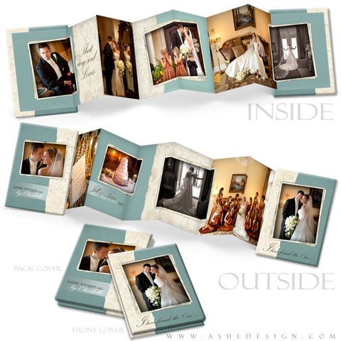 Photo Book Design Template (2.5x3.5 Wallet Accordion) - Soul Mate
