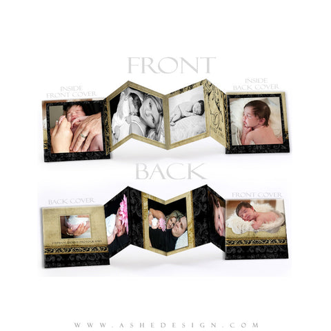 Photo Book Design Template (3x3 Accordion Mini) - Rejoice