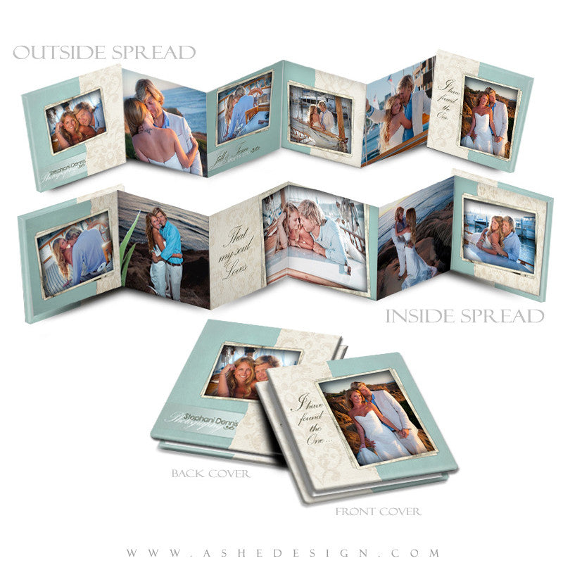 Photo Book Design Template (3x3 Accordion Mini) - Soul Mate
