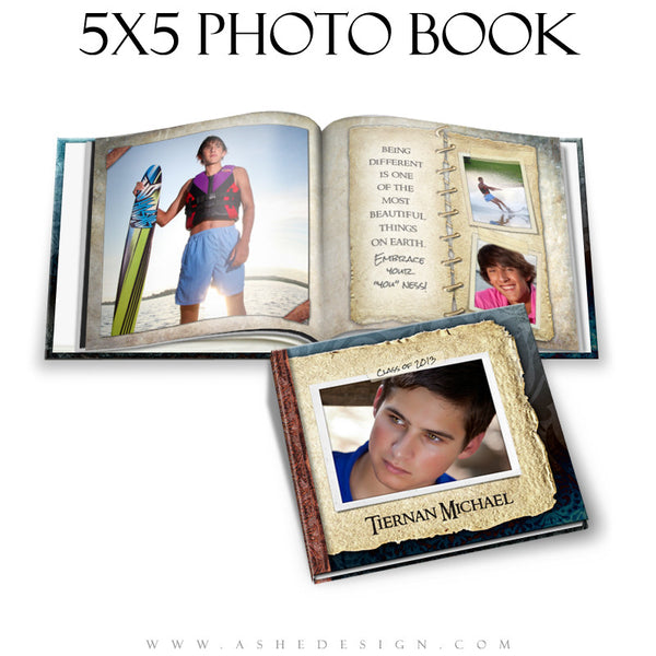 Photo Book Design Template (5x5) - Tiernan Michael