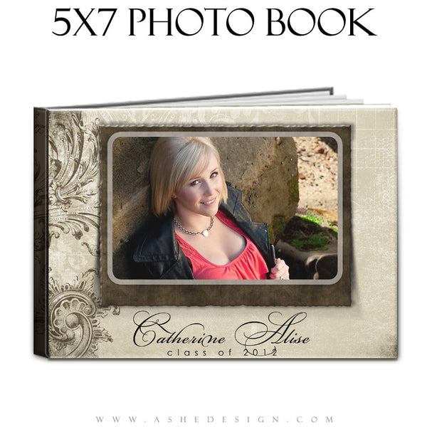 Senior Girl Photo Book (5x7) - Catherine Alise