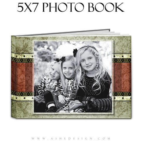 Photo Book Templates 5x7 | Christmas Keepsake cover
