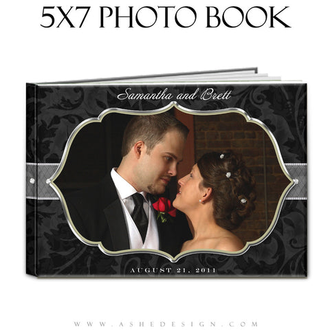 Photo Book Design Template (5x7) - Classic Black & White 2011