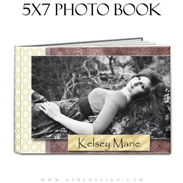 Photo Book Template (5x7) - Pear Berry