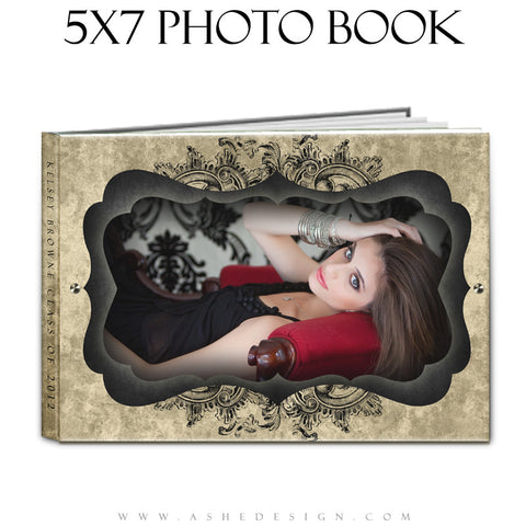Photo Book Design Template (5x7) - Timeless Beauty