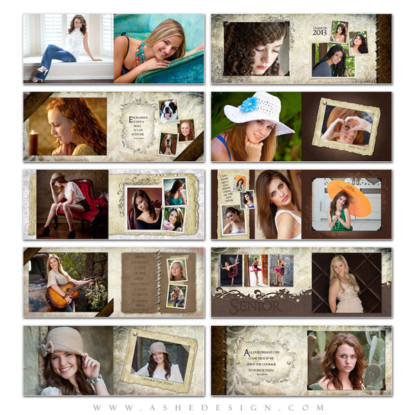 Photo Book Design Template (8.5x11) - Kyra Ann