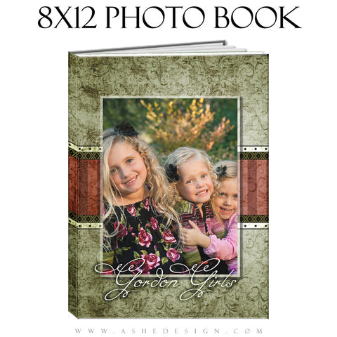 Photo Book Templates 8x12 | Christmas Keepsake cover