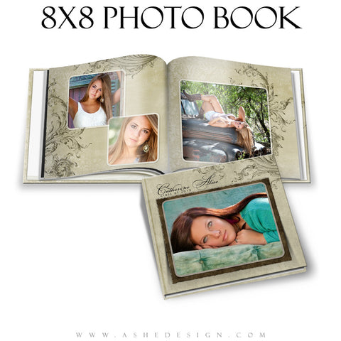 Photo Book Design Template (8x8) - Catherine Alise