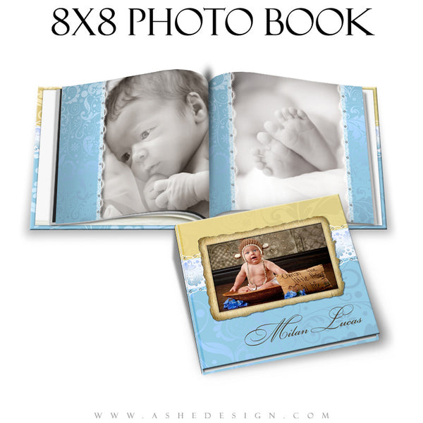 Photo Book Design Template (8x8) - Milan Lucas