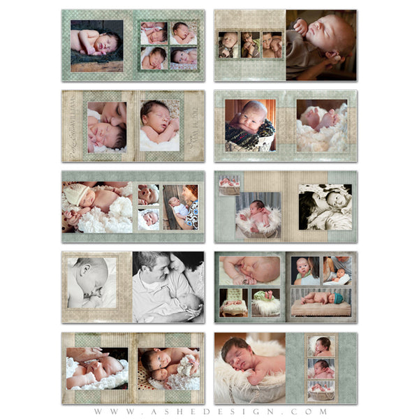 Photo Book Design Template (8x8) - Parker Elliott