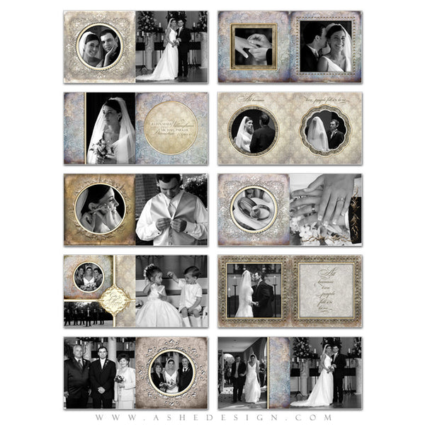 Photo Book Design Template (8x8) - Something New