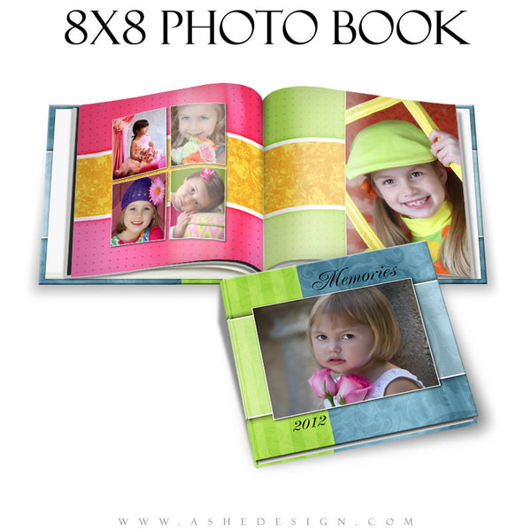 Ashe Design | Spring Fling 8x8 Photo Book cover
