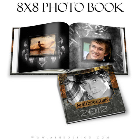 Photo Book Design Template (8x8) - Tattooed