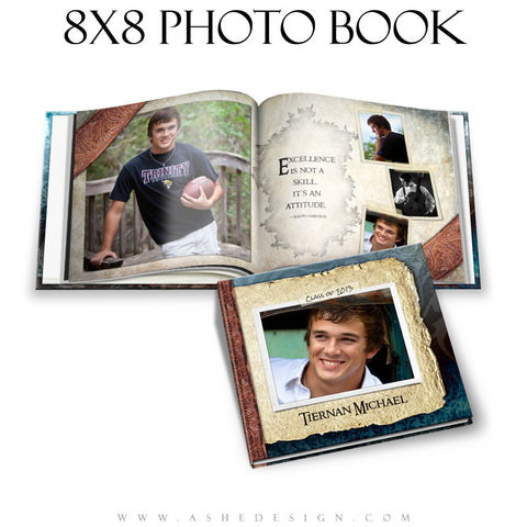 Photo Book Design Template (8x8) - Tiernan Michael