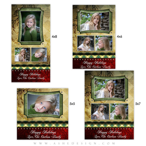 Christmas Photo Card Set - Christmas Couture