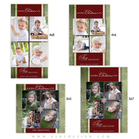 Christmas Photo Card Set - Dear Santa