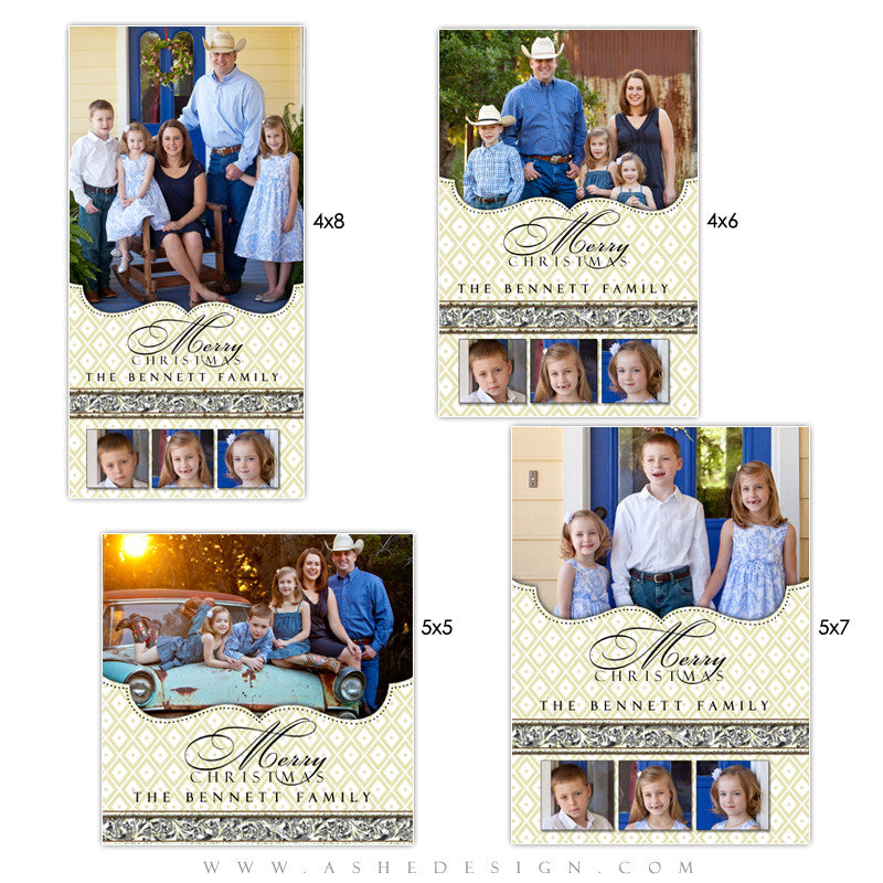 Christmas Photo Card Set - Faith