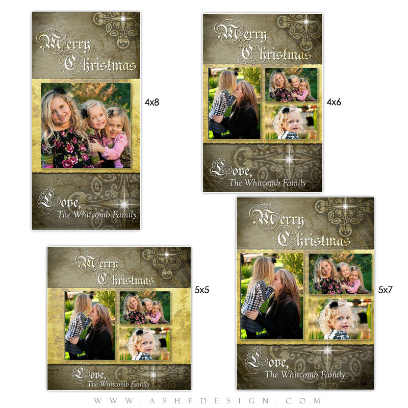Christmas Photo Card Set - First Night