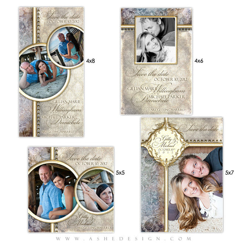 Photo Card Save The Date Set - Something New