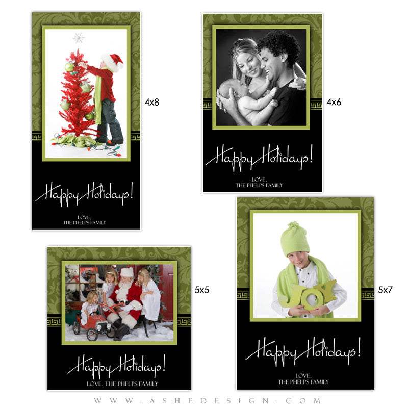 Christmas Photo Card Set - Sophisticated