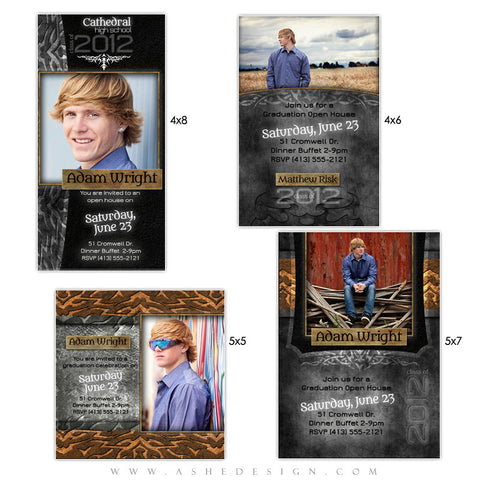 Graduation Photo Card Set - Tattooed