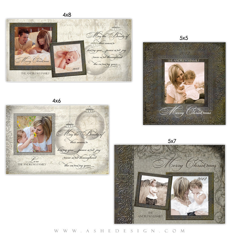 Christmas Photo Card Set - The Night Before Christmas