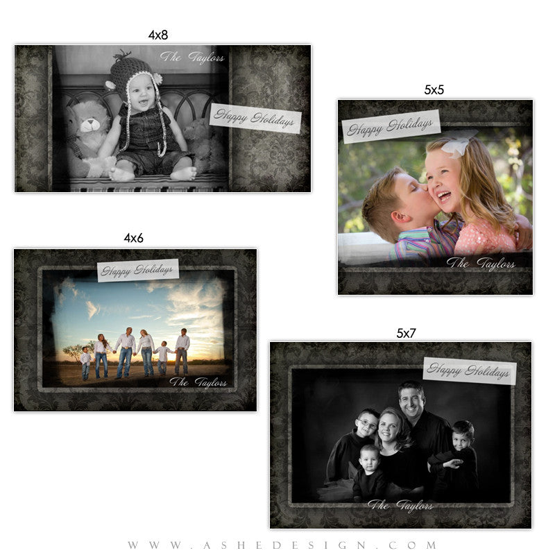 Christmas Photo Card Set - Timeless