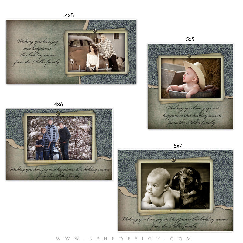 Christmas Photo Card Set - Tomorrow's Memories