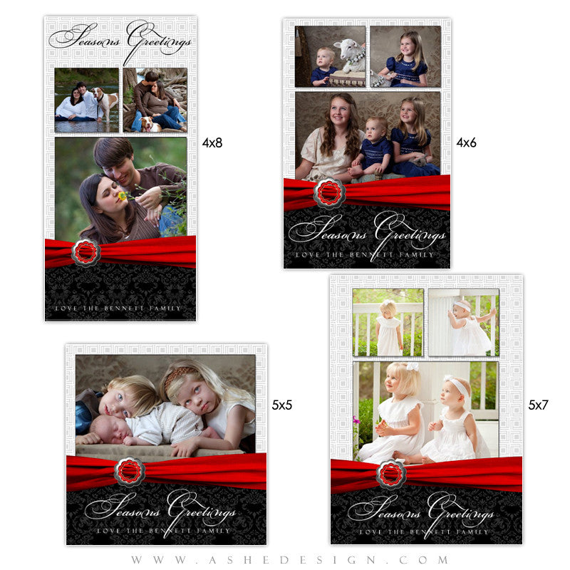 Christmas Photo Card Set - Top Shelf