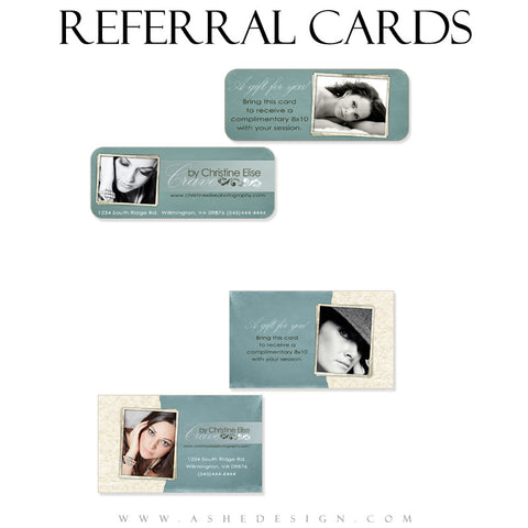 Referral Card Designs - Soul Mate
