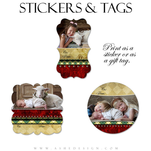 Sticker Design Set - Christmas Couture
