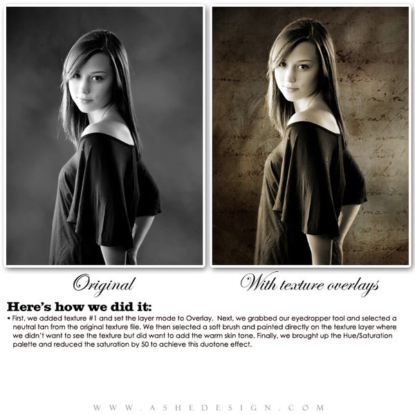 Ashe Design | Beautiful Texture Overlays