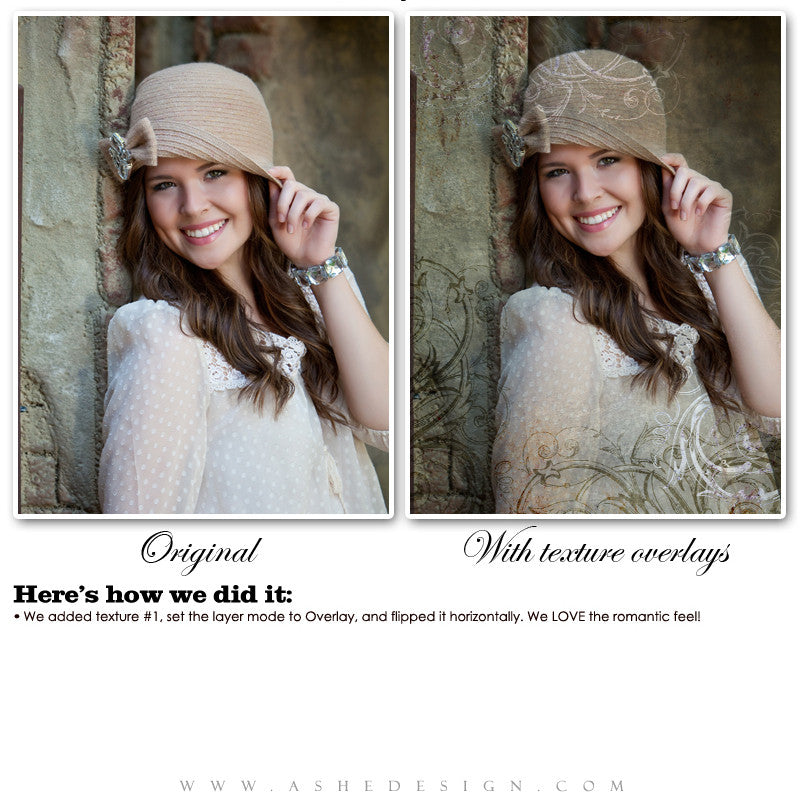Ashe Design | Something Borrowed Texture Overlays