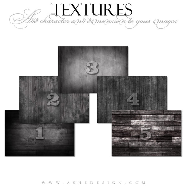 Ashe Design | Wooden Texture Overlays
