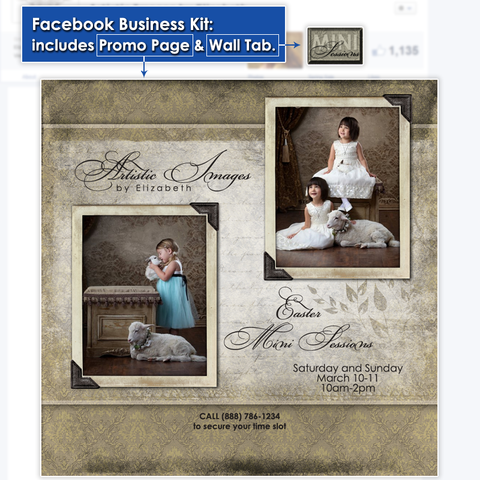 Timeline Business Kit Design - Aged Damask
