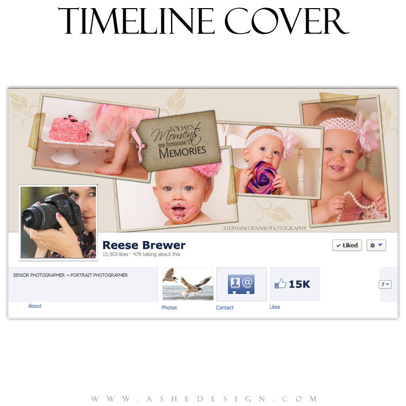 Timeline Cover Design - A Stitch in Time
