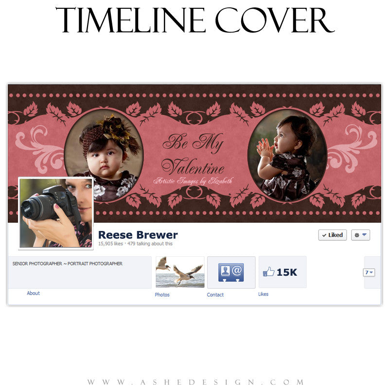 Timeline Cover Design - Be Mine