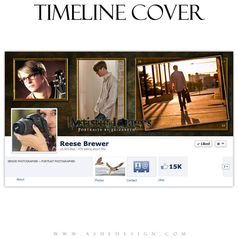 Timeline Cover Design - Brandon