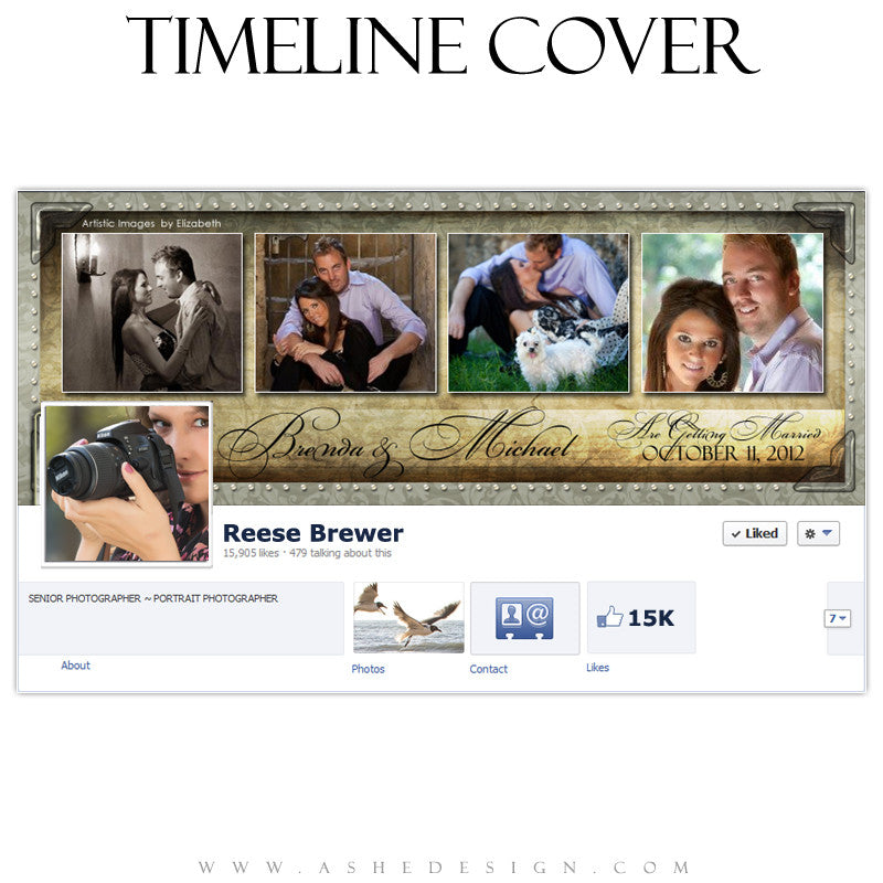 Timeline Cover Design - Captivating