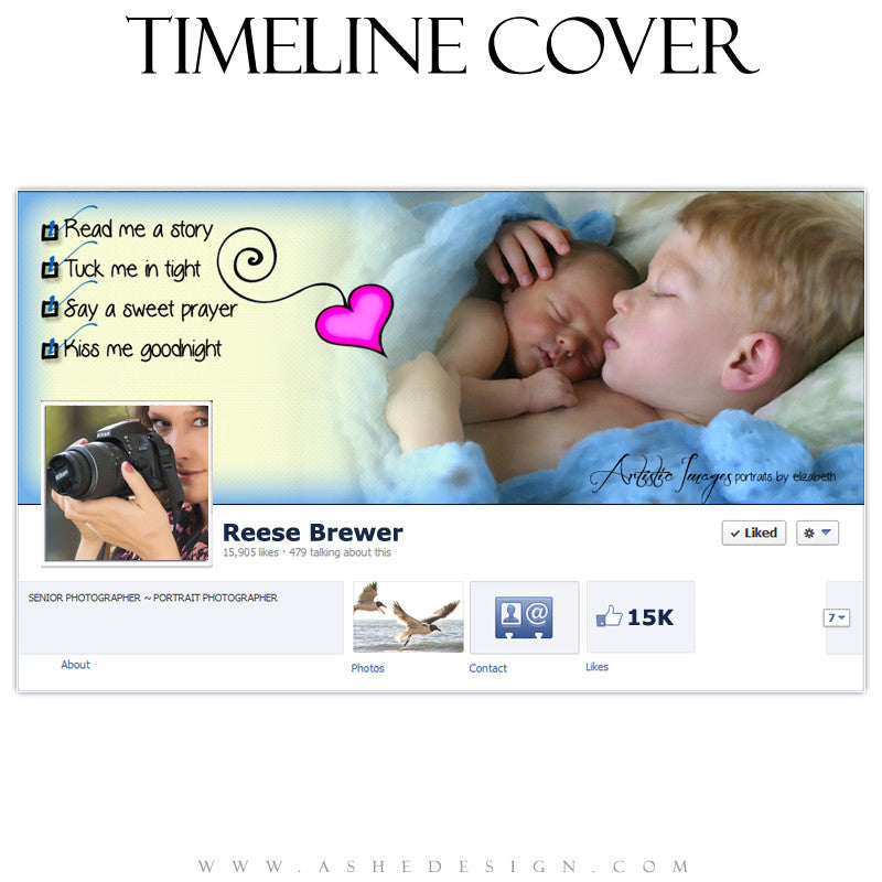 Timeline Cover Design - Checklist