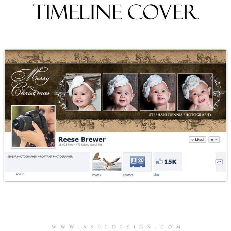 Timeline Cover Design - Chocolate Silk