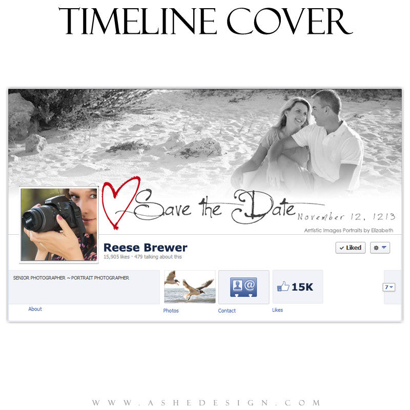 Timeline Cover Design - Cross My Heart