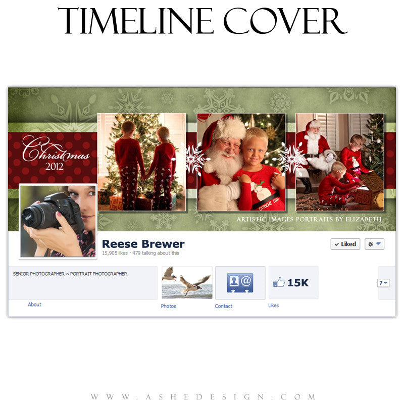 Timeline Cover Design - Dear Santa